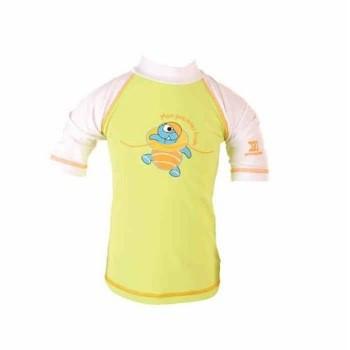 Le t-shirt anti UV pour protéger bébé du soleil